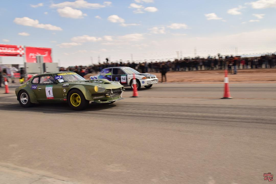 Iran's national drag racing new record