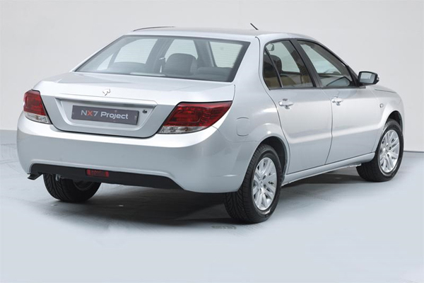 Ministry of Industry and Mines unveiled New advanced sedan named Dena